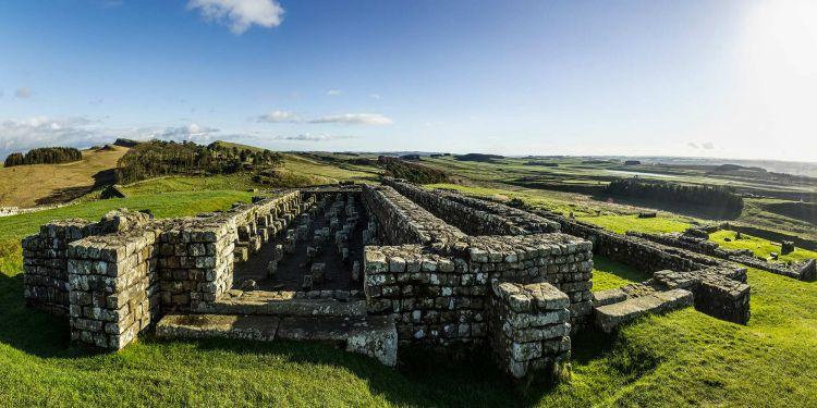 Roman building remains