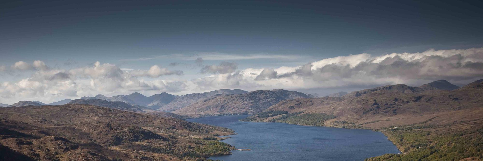 Ben A'an overlooking Loch Katrine, (c)Loch Lomond & The Trossachs National Park