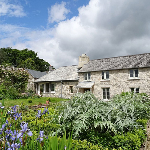 Traditional stone holiday cottage.